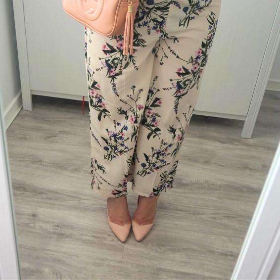 New look trousers and gucci
