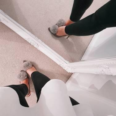 Missguided Pom Pom Heels